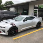 camero with car window tint in san antonio