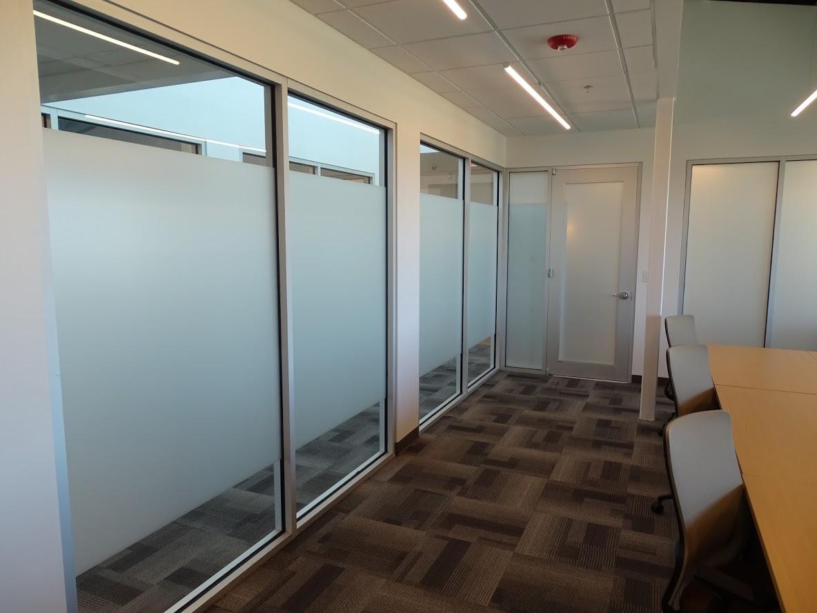 Office Indoor Conference Room Window Frost